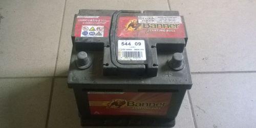 Banner 544 09 12V 44ah 360A (EN) akkumulátor 6 hónap garancia. 8000Ft