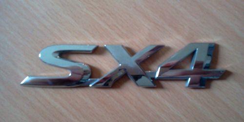 Suzuki SX4 embléma, dísz felirat, logó 77831-79J00-0PG  Gyári. Ft/db 2000Ft