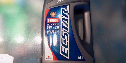 ECSTAR 4L 0W-20 MOTOROLAJ Gyári Suzuki Motorolaj 4L 0W-20 Minden Suzukiba 2010-> 14900Ft