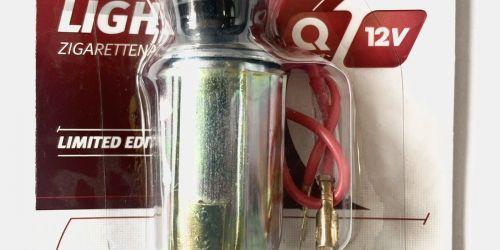 Szivargyújtó 12V 12 V-os gépjárművekbe építhető szivargyújtó világítással. 1900Ft