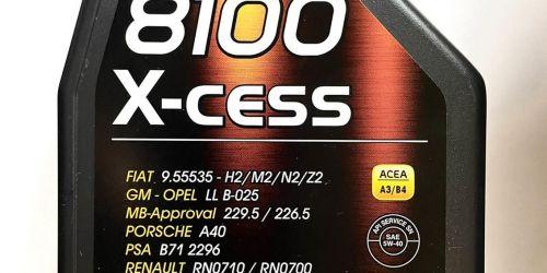MOTUL 8100 X-CESS 5W-40 - Motorolaj 1L Teljesen szintetikus motorolaj modern benzin- és dízelmotorokhoz, közvetlen befecskendezéssel is. Észrevehető üzemanyag -megtakarítás a tökéletesen sima futási tulajdonságoknak köszönhetően. Hosszú élettartam és a motor védelme még hosszú csereintervallumok mellett is. 3900Ft